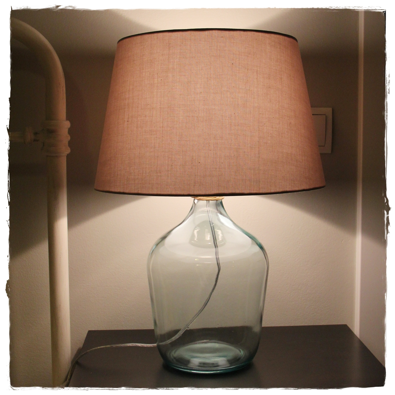 Brand new Glass Jug Lamp – Seepocke DG79